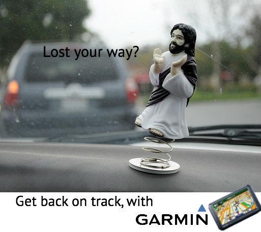 Garmin ad